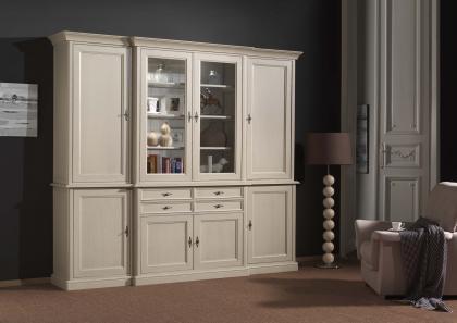 wandmeubelen en vitrines stevens meubel. Black Bedroom Furniture Sets. Home Design Ideas